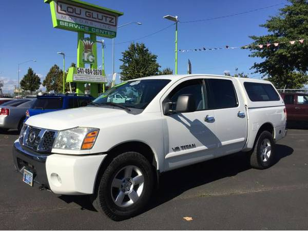 2007 Nissan Titan SE Crew Cab 4WD, Carfax One Owner, Clean