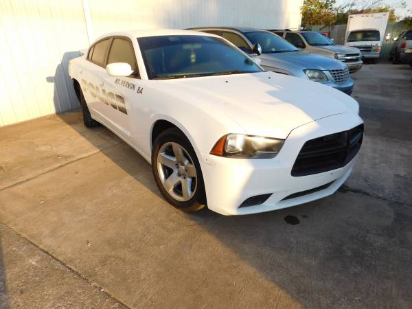 2014 CHARGER POLICE CAR