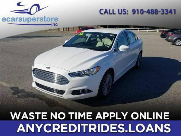 2016 *Ford* *Fusion* Titanium You're Approved or Car is *Free*
