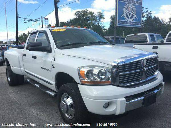 2006 *Dodge* *Ram* *3500* QuadCab Laramie 4X4 - CALL/TEXT TODAY!