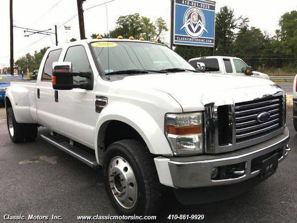 2009 *Ford* *F-450* CrewCab Lariat 4X4 DRW - CALL/TEXT TODAY!