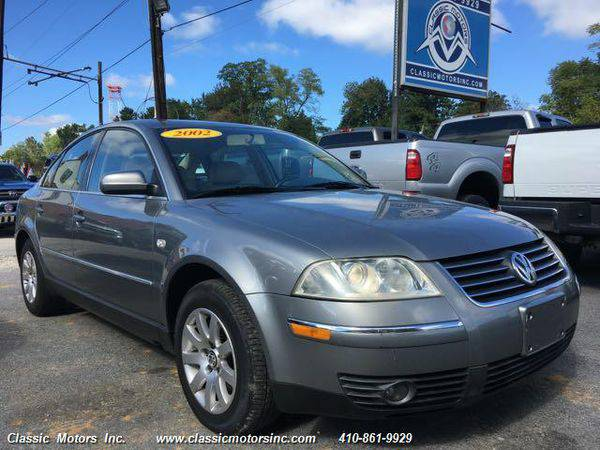 2002 *Volkswagen* *Passat* GLS 1.8T - CALL/TEXT TODAY!
