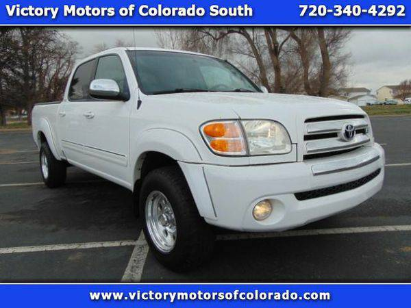 2004 *Toyota* *Tundra* SR5 Double Cab 4WD - Over 500 Vehicles to Choos