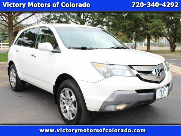 2007 *Acura* *MDX* Tech Package with Rear DVD System - Over 500 Vehicl
