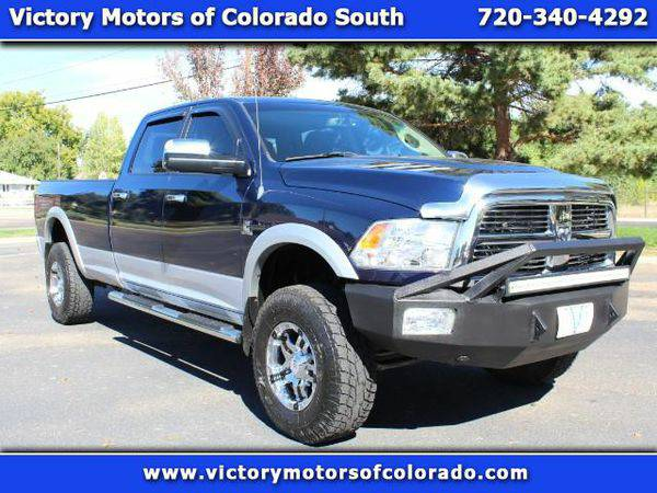 2012 *RAM* *3500* Laramie Crew Cab LWB 4WD - Over 500 Vehicles to Choo