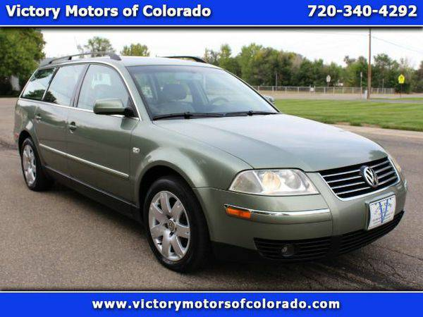 2002 *Volkswagen* *Passat* *Wagon* GLX - Over 500 Vehicles to Choose F