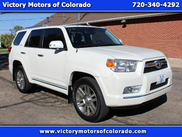 2013 *Toyota* *4Runner* Limited 4WD V6 - Over 500 Vehicles to Choose F