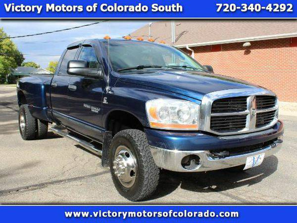 2006 *Dodge* *Ram* *3500* SLT Quad Cab 4WD DRW - Over 500 Vehicles to