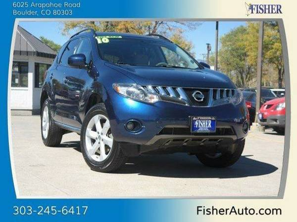 2010 Nissan Murano AWD 4dr SL Sport Utility AWD 4dr