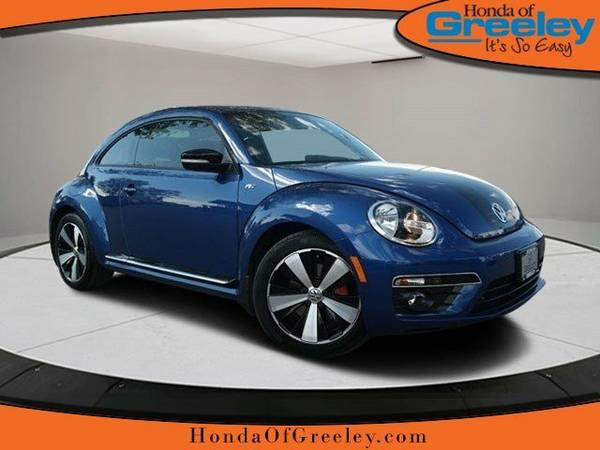 2015 Volkswagen Beetle Coupe 2dr Man 2.0T R-Line w Sun Sound *Ltd...