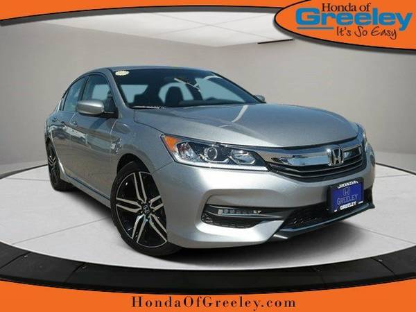 2016 Honda Accord Sedan 4dr I4 CVT Sport 4dr Car