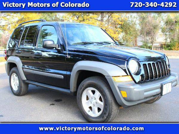 2005 *Jeep* *Liberty* Sport 4WD CRD Turbo Diesel - Over 500 Vehicles t