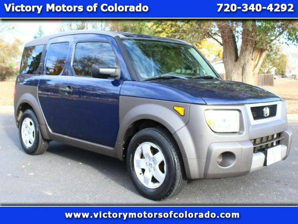 2003 *Honda* *Element* EX 4WD AT - Over 500 Vehicles to Choose From!