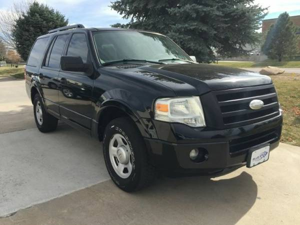2008 FORD EXPEDITION XLT Police 4WD 4x4 5.4L V8 SUV Black 227mo_0dn