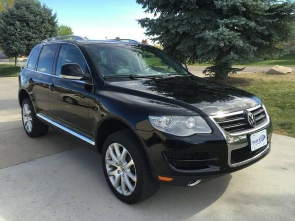 2010 VOLKSWAGEN TOUAREG TDI Turbo Diesel AWD Leather VW SUV 0dn_306mo