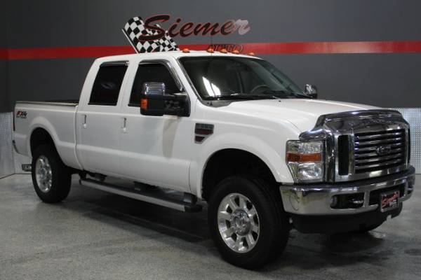 2010 Ford F-350 SD Lariat Crew Cab Long Bed 4WD - GIVE US A CALL 402 7