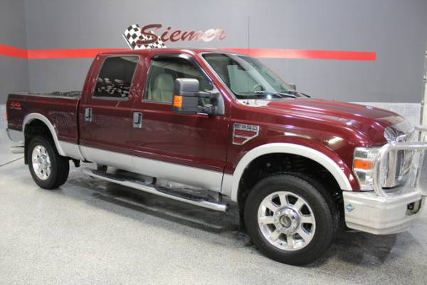 2008 Ford F-350 SD Lariat Crew Cab 4WD - TEXT US