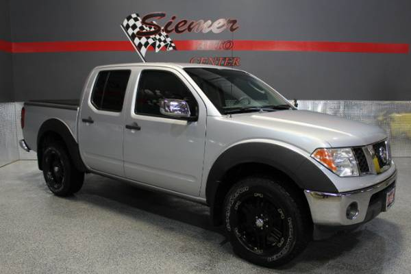 2007 Nissan Frontier LE Crew Cab 4WD - GIVE US A CALL