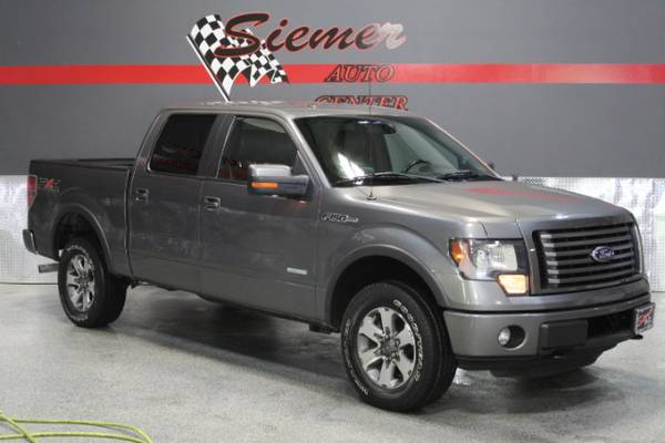 2011 Ford F-150 FX4 SuperCrew Short Box - TEXT US
