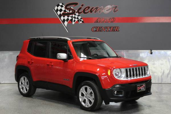 2015 Jeep Renegade Limited 4WD - TEXT US