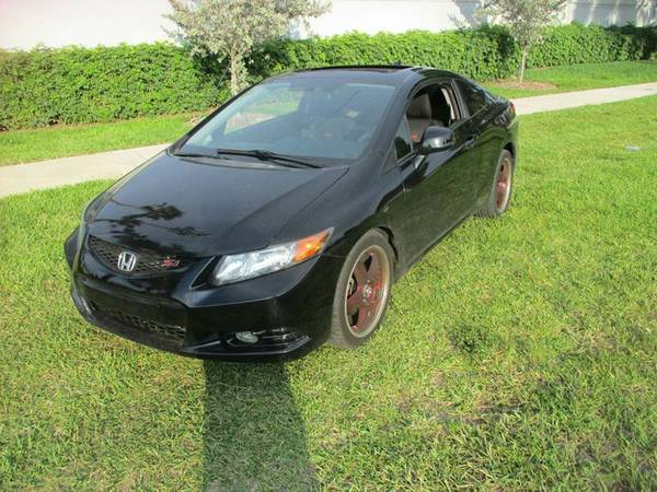 2012 Honda Civic Si 2dr Coupe