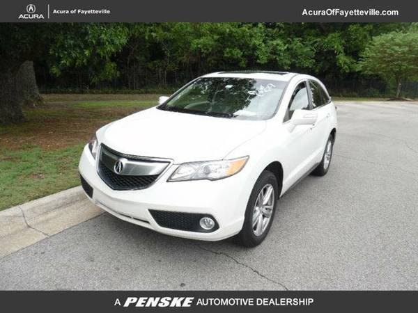 2013 *Acura RDX* AWD 4dr Tech Pkg (WHITE)