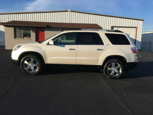 2011 GMC ACADIA SLT-1 LEATHER NAV DVD ROOF CAMERA NICE! 500 DOWN! 420