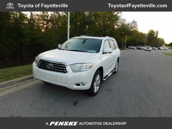 2008 *Toyota Highlander* 4WD 4dr Limited (Blizzard Pearl)