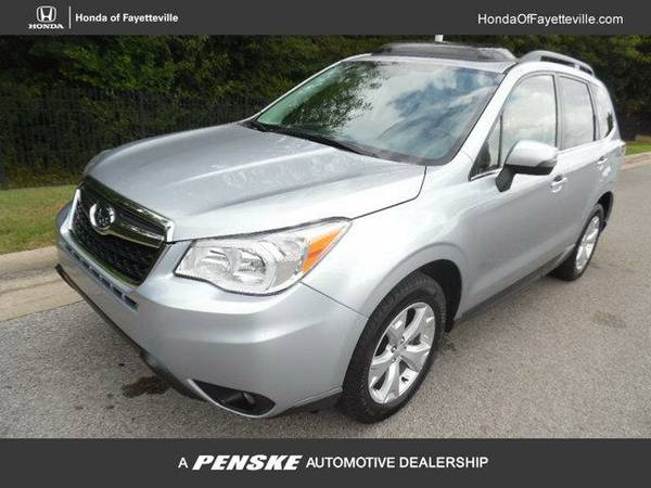 2014 *Subaru Forester* 4dr Automatic 2.5i Touring PZEV (SILVER)