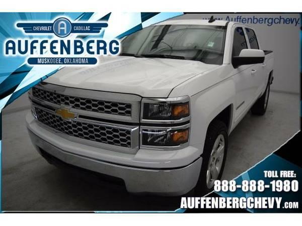 2015 *Chevrolet Silverado 1500* LT (White)
