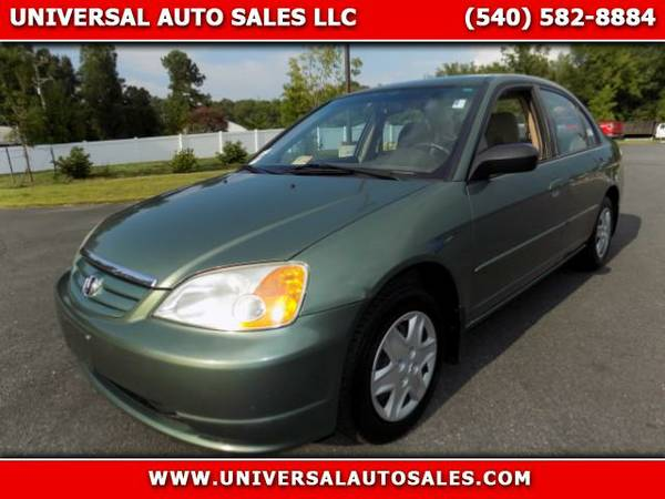 ~~~~~2003 Honda Civic LX Sedan~~~~~AUTO, 90 DAY WARRANTY INCLUDED!~~~~