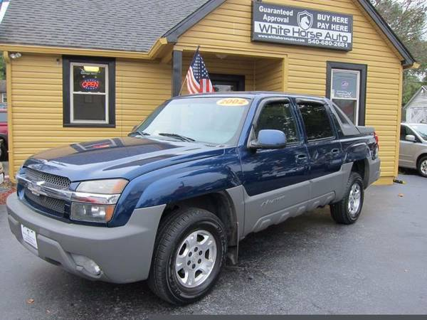 2002 CHEVROLET AVALANCHE ~ $0 DOWN ON ANY PAID TRADE IN!!