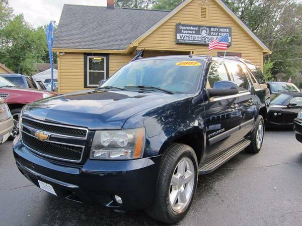 2007 CHEVROLET AVALANCHE LT 4WD ~ $0 DOWN ON ANY PAID TRADE IN!!