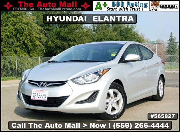 2015 HYUNDAI ELANTRA SE * EXTRA CLEAN * CARFAX 1-OWNER VEHICLE