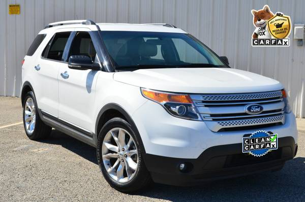2013 FORD EXPLORER XLT 4WD SPORT SUV LEATHER PREMIUM WHEELS !