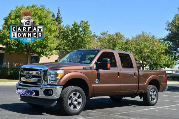 2011 FORD F250 LARIAT 6.7 LITER TURBO DIESEL LEATHER 4X4 OFF ROAD