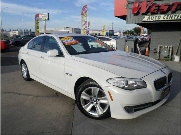 2013 *BMW* *5* *Series* 528i Sedan 4D -BAD/NO CREDIT APPROVED