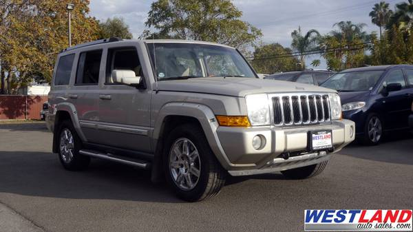 2007 Jeep Commander HEMI: Buy Here Pay Here THAT CAN BUILD CREDIT!