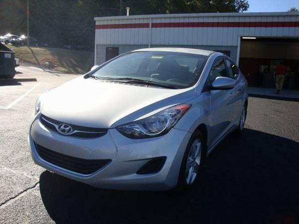 2013 *Hyundai Elantra* GLS (Silver)