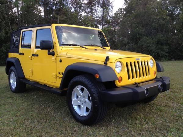 2008 Jeep Wrangler X JK Unlimited