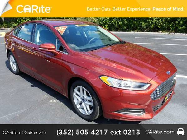 2014 *Ford Fusion* 4dr Sdn SE FWD (Ruby Red Metallic Tinted Clearcoat)