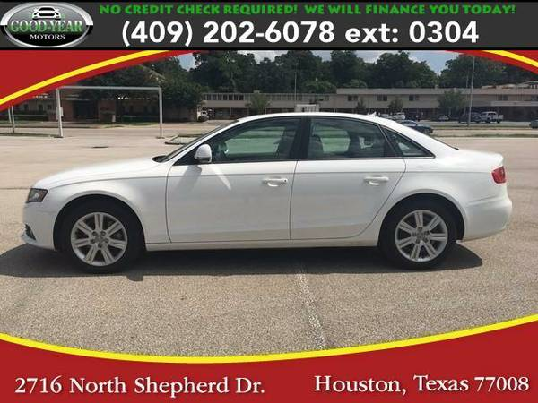 2009 *Audi A4* 2.0 T Sedan FrontTrak Multitronic NO CREDIT CHECK...