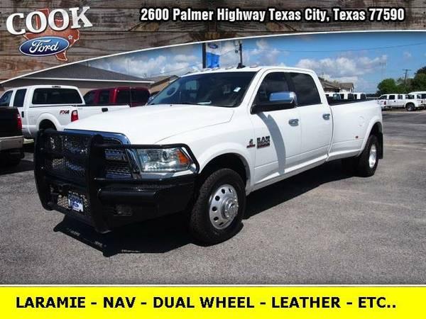 2014 *Dodge Ram 3500* Laramie - White