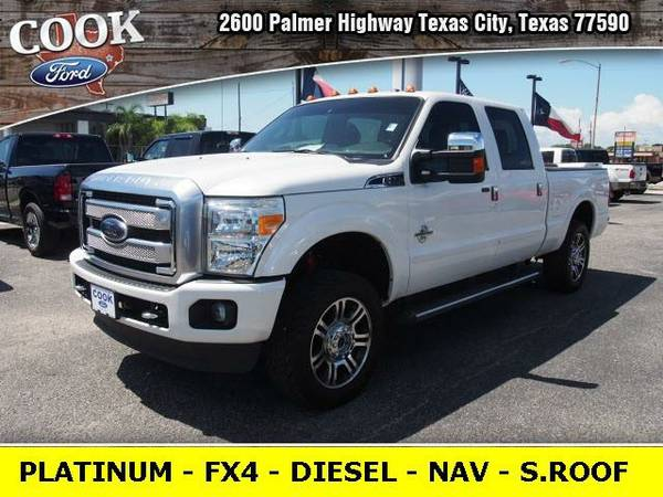 2015 *Ford F-250SD* Platinum - White
