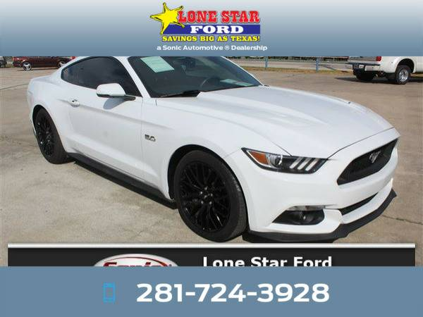 *2016* *Ford Mustang* *GT Premium 2dr Fastback* White