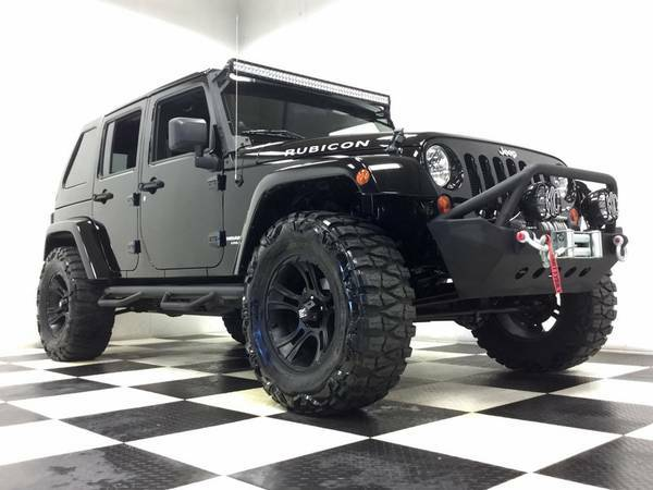 2012 JEEP WRANGLER RUBICON-12,000 MILES-$20,000 IN EXTRAS! NONE NICER!
