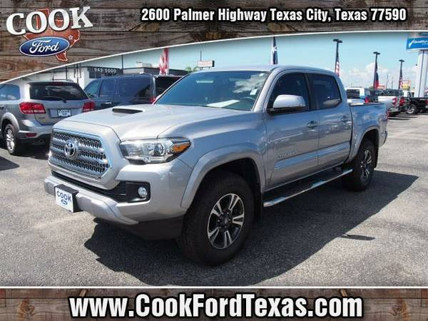 2016 *Toyota Tacoma* TRD Sport - Silver