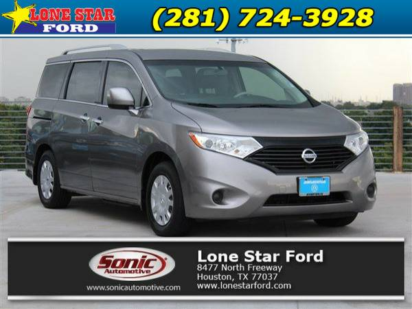 *2013* *Nissan Quest* *S 4dr* Gray