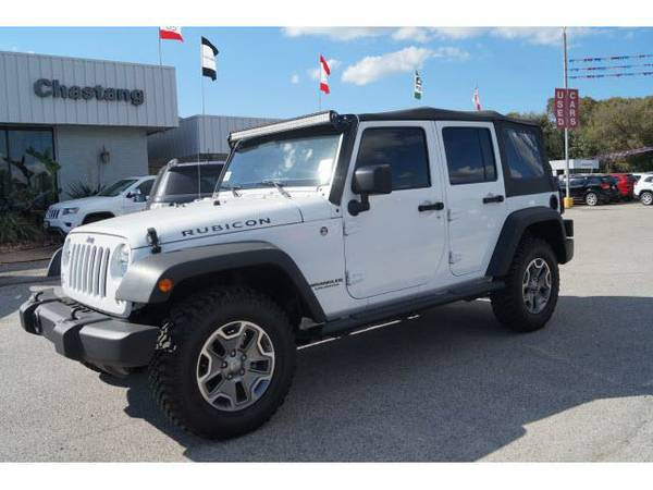 2015 *Jeep WRANGLER UNLIMITED* RUBICON -
