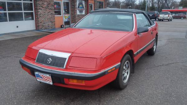 1988 Chrysler Le Baron Convertible 82K